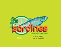 FMCG sardines packaging