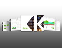 Web design prototype for Korter