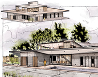 House 450м2 Shamsudin Kerimov Architect.