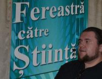 """Festivalul științific """"Fereastră către Știință""""-Tecuc"""