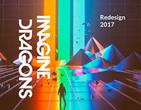 Imagine Dragons redesign