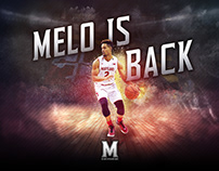 MELO IS BACK!