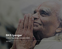 Yoga Iyengar website