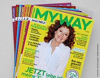 MYWAY Magazin (published illustrations)