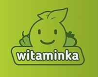 Witaminka logo design