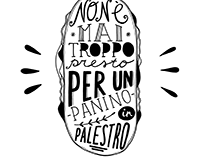 Lettering for Panino Giusto