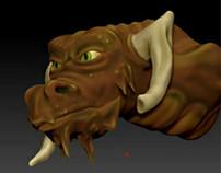 Dragon ZBrush sculpt - WIP