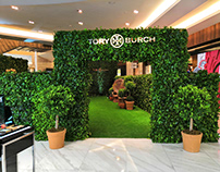 TORY BURCH SECRET GARDEN EVENT