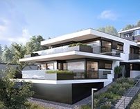 Terrace building inAuenstein - Switzerland