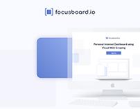 focusboard.io | Logo & UI Design