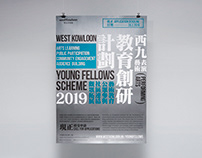 West Kowloon Young Fellows Scheme (PA) 2019 Poster