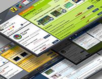 Online Education Portal for Middle Schools