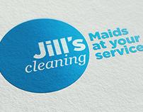 Jill's Cleaning - Identidade Visual e Web