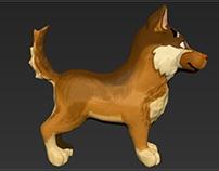 Dog 2 - sculp.