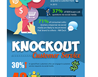Insightly - Knockout Stats Infographic