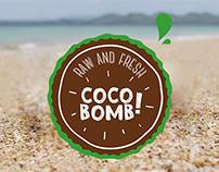 COCOBOMB! logo design