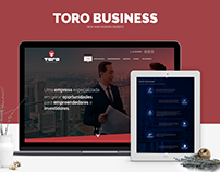 Toro Business - New Website