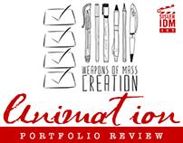 Animation Portfolio Review