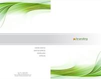 Diseño de Carpeta A4 Institucional