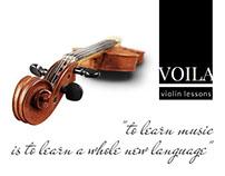 Violin Lessons Advertising Kit