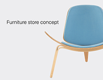 Relax - furniture store concept