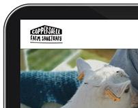 Logo Design - Coppershell Farm Animal Sanctuary
