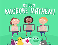 Dr Bug's Microbe Mayhem: Game App
