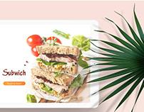 Subwich Kiosk Order System