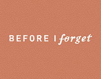Before I Forget | let's learn french together