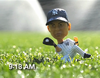 Jacoby Ellsbury's Bobblehead Body Double