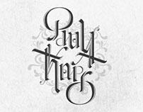 Ambigram • Paula Thais