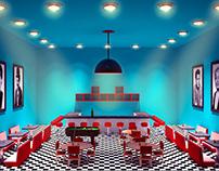 Cenário 3D / Diners