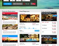 B2B/B2C Travel Portal UX