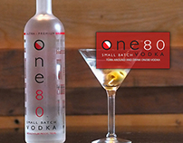 One80Vodka.com (Web Design)
