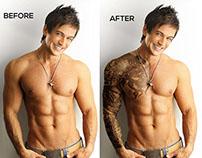 Applying a Realistic Tattoo- Photo Manipulation
