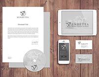 Branding for VENDETTA - Horse Riding School