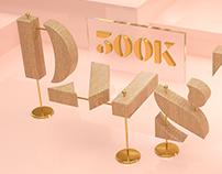 #500K Domestika