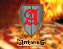 Logo Arthorius Pizzaria