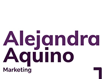 Branding Alejandra Aquino