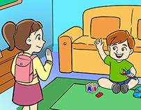 Illustrations for Kids Book