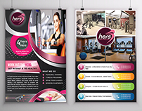 (Here's) Creative Gym Flyer (1)