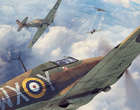 Battle of Britain Combat Archives - August 22nd