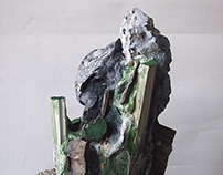 The People Who came From The Sea - Sculpture No.3