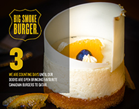 Big Smoke Burger / Social Media Design