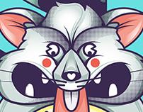 Rat eats moons   Mugs