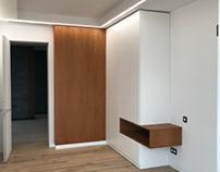 Дизайнерский шкаф и столы