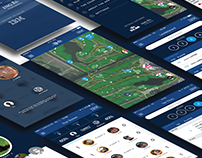 KLM Open 2016 - Mobile UI