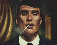 Tommy Shelby (Commissioned magazine cover )