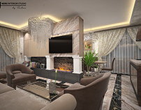 Brown classic apartament