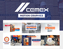 CEMEX | Motion Graphics + Video